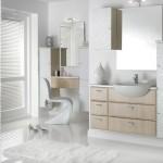Дизайн ванной комнаты, мебель