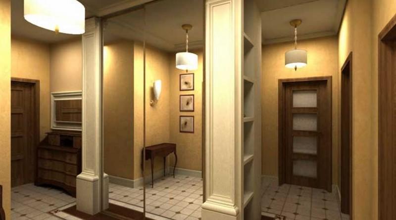 Интерьер в коридоре в квартире