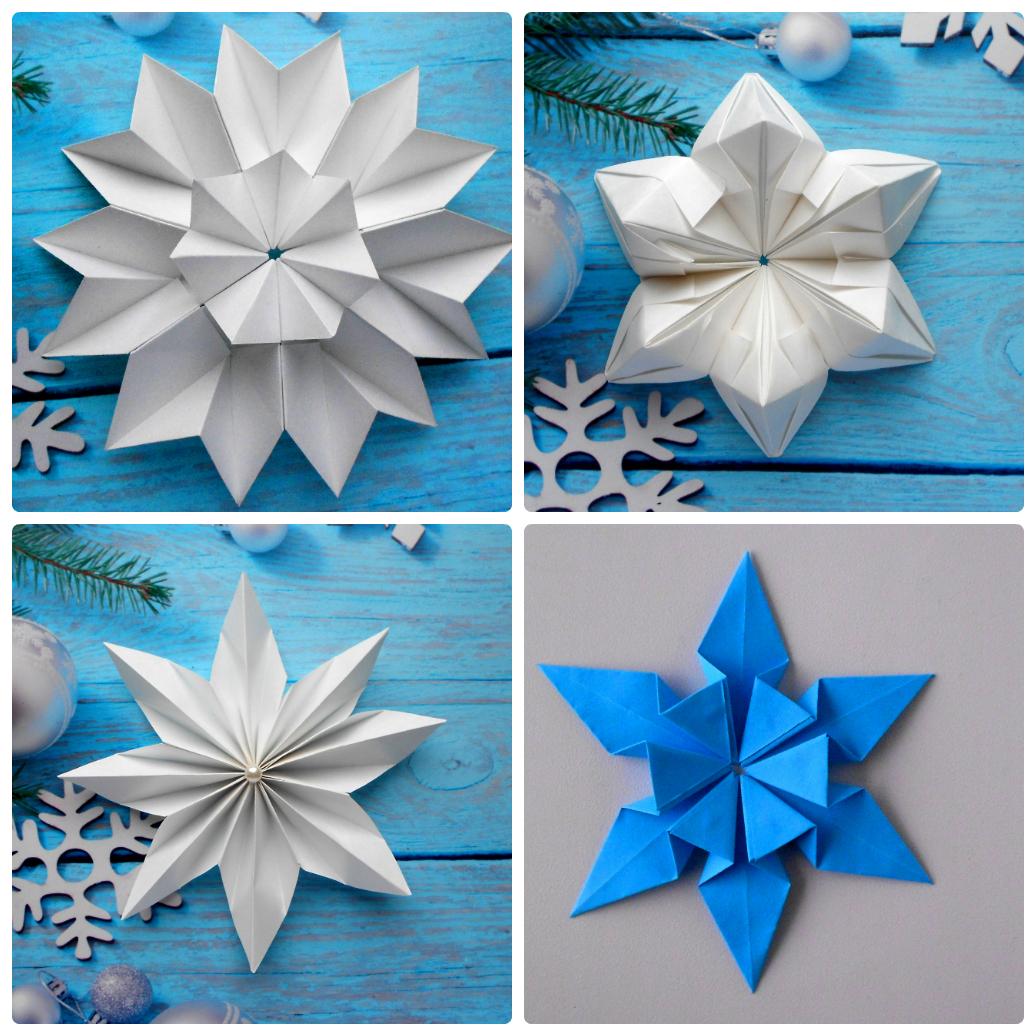 Как сделать бумажные снежинки для дома