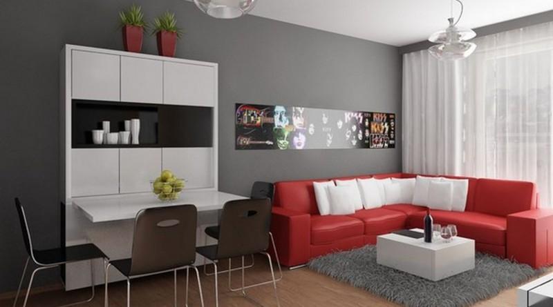 Дизайн интерьера маленькой комнаты 12 м. кв.