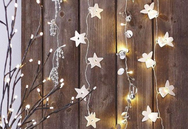 Новогодний декор стен