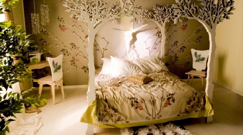 Сказочный лес в детской комнате