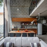 Декоративный кирпич в домашнем интерьере (30 фото)