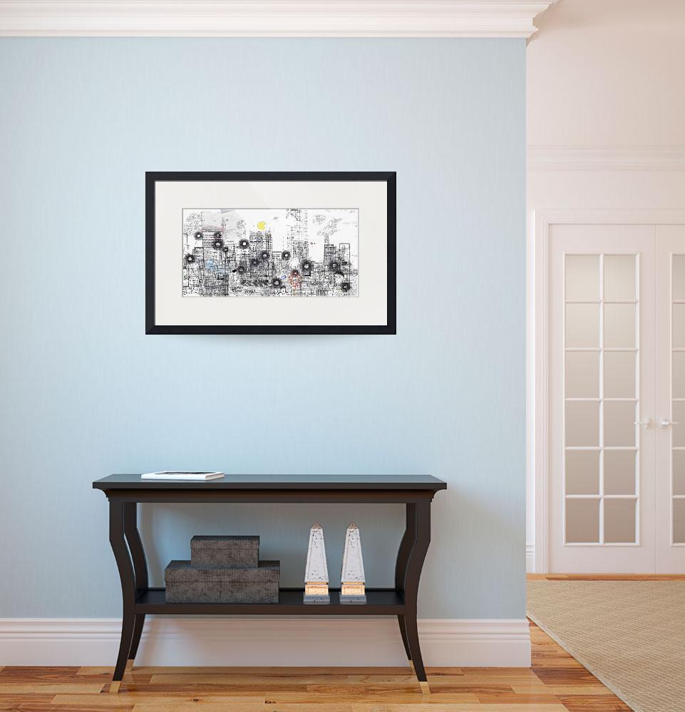 картины в интерьере квартиры в сдержанной гамме