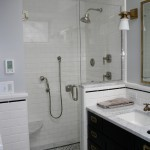 Особенности дизайна ванной комнаты с душевой кабиной (+50 фото)