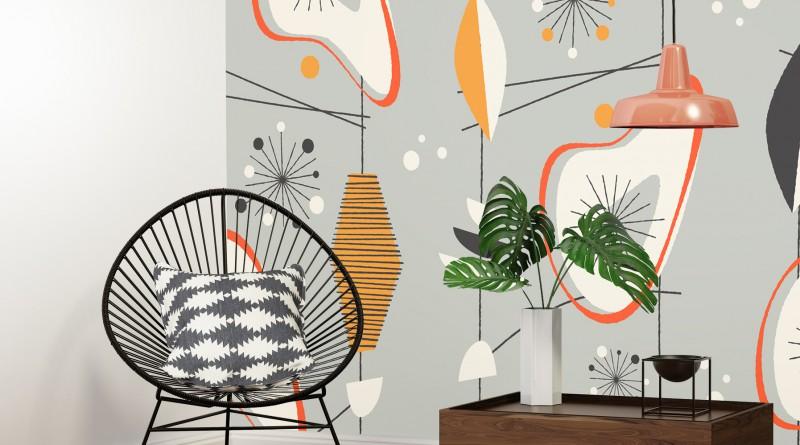 Современные фрески в интерьере дома