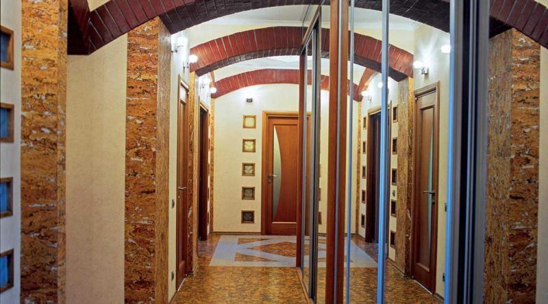 Дизайн в коридоре в квартире