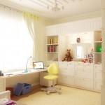Стильный дизайн детской для девочек всех возрастов (33 фото)