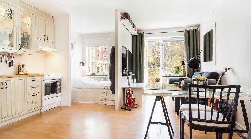 дизайн маленькой комнаты 12 м.кв.