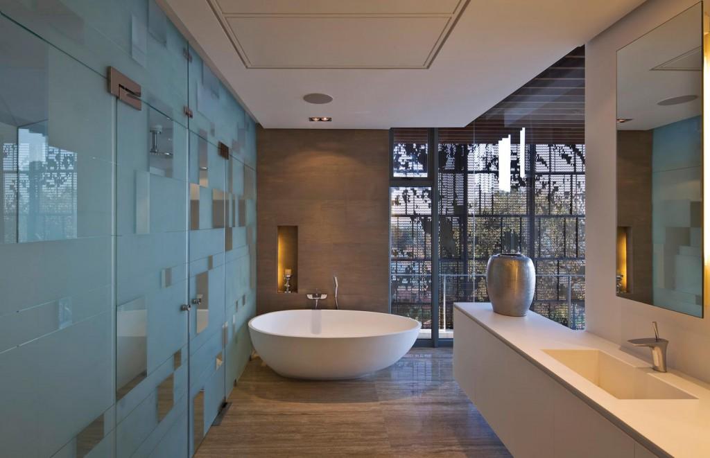 Ванная комната в отделке керамической плиткой