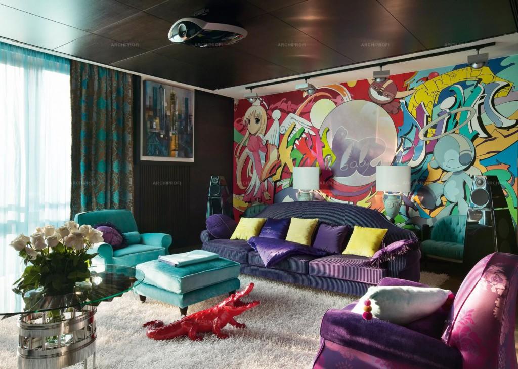 Интерьер комнаты для подросткаИнтерьер комнаты для подростка