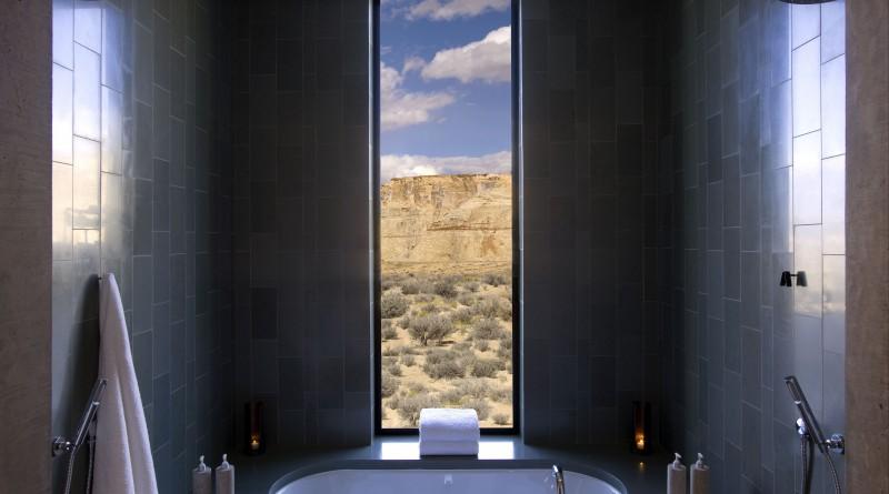 Дизайн ванной в темном цвете