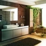 Эко дизайн ванной комнаты