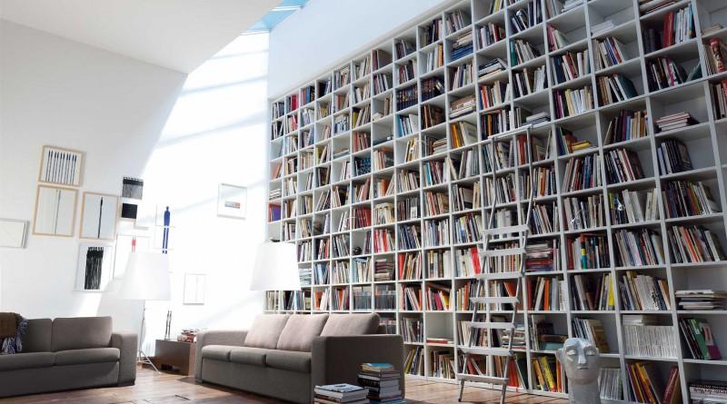 Интерьер библиотеки