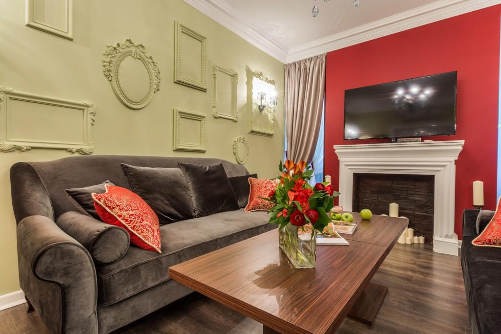 В какой цвет покрасить стены гостиной