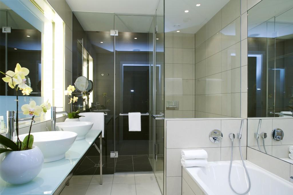 дизайн ванных комнат совмещенных с туалетом