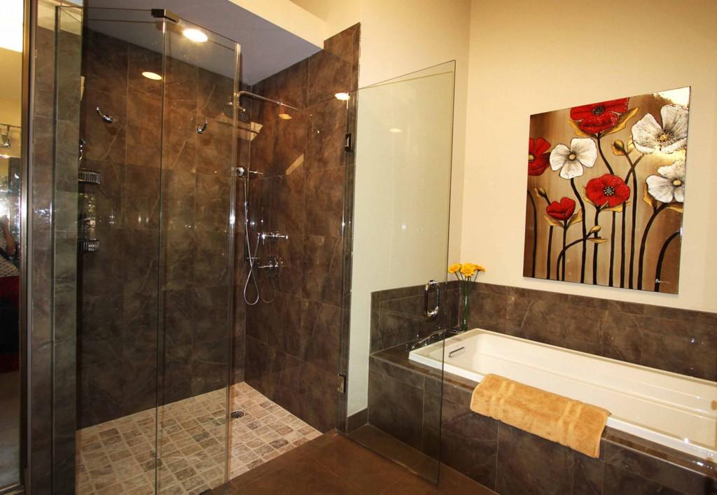 Фотоплика в ванной комнате