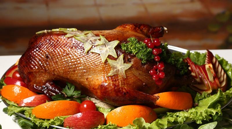 Новогоднее блюдо курица