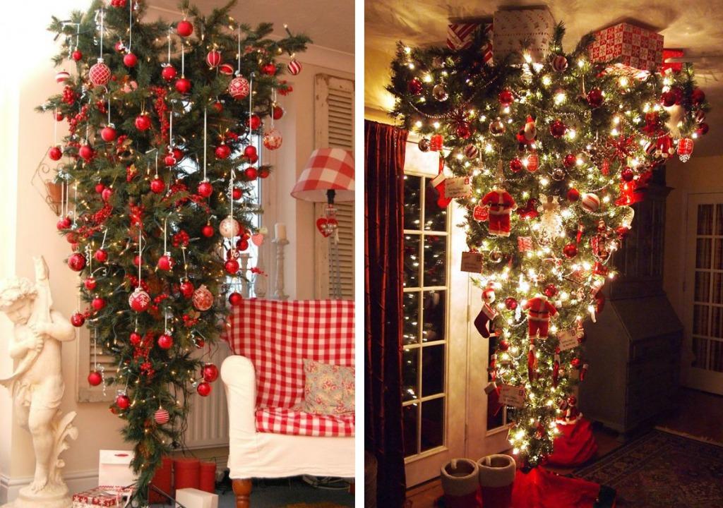 Перевернутая новогодняя елка