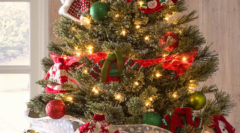 Идеи украшения елки к Новому году