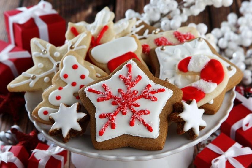 Десерт печенье на Новый год