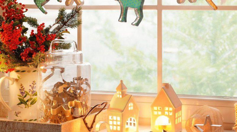 Новогодний декор для детской
