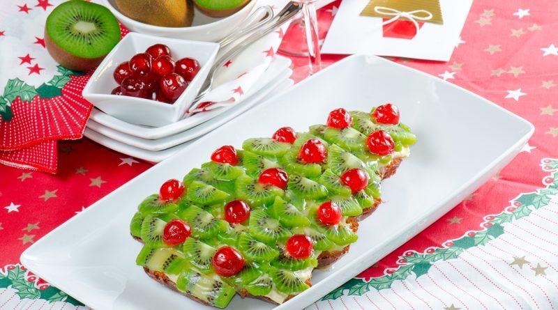 Десерт елочка на Новый год