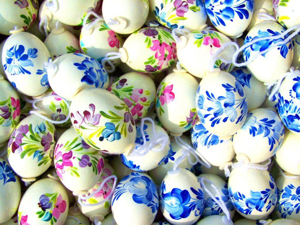 Декупаж куриных яиц