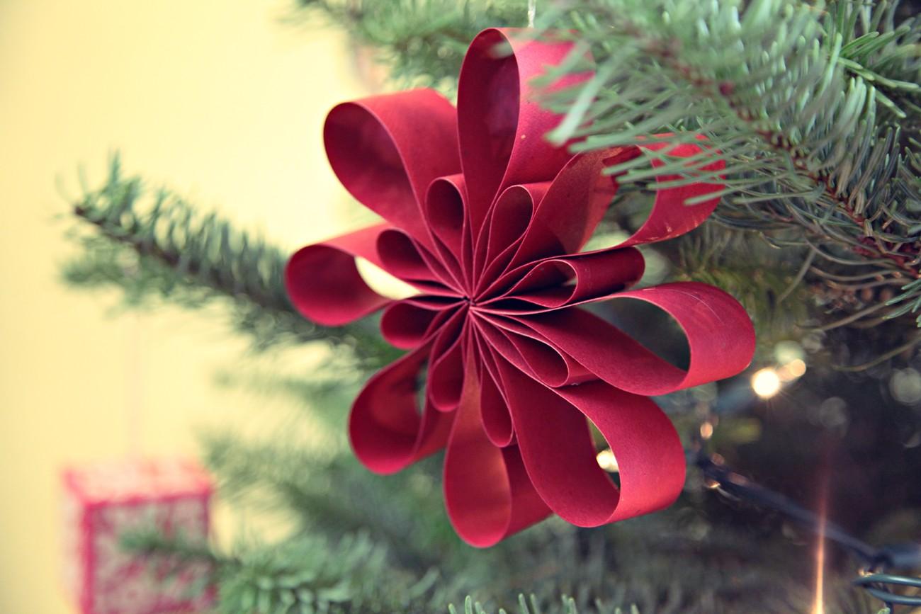 Изготовление новогодних украшений из бумаги: лучшие идеи для творчества