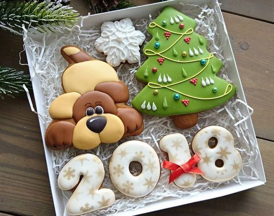 Новогоднее печенье своими руками
