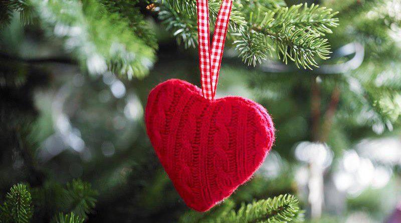 Сердечко для елки своими руками