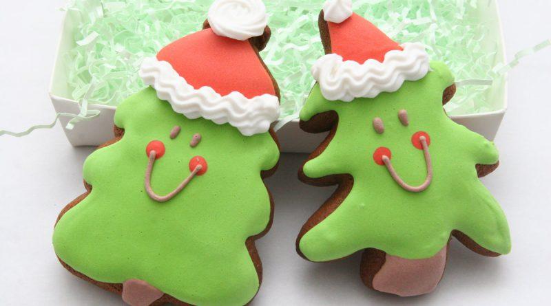Оригинальное печенье на Новый год