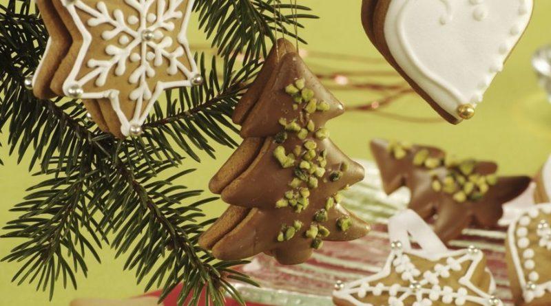Съедобные украшения на елку своими руками