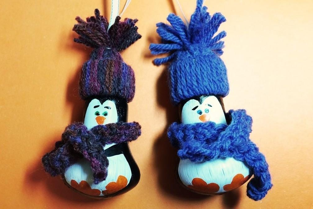 Пингвины из Мадагаскара из лампочек