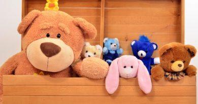 Как организовать хранение мягких игрушек в детской?
