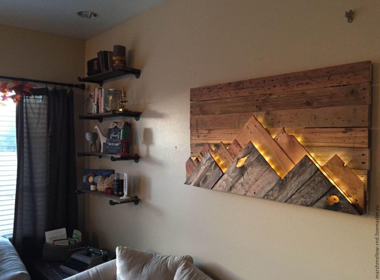 Стильное применение остатков ламината в интерьере квартиры