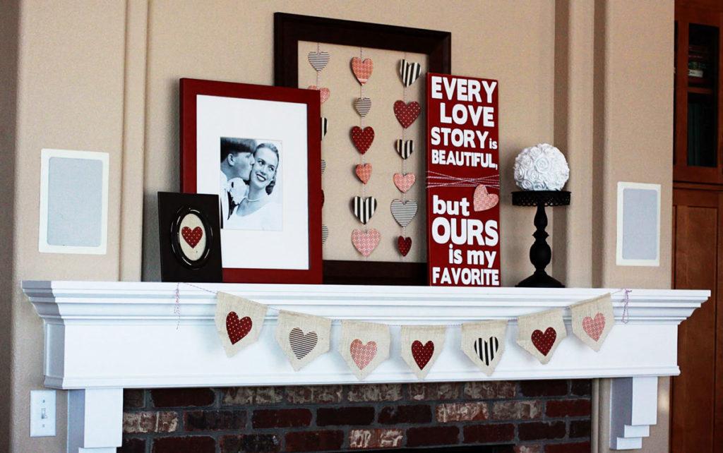Как украсить квартиру 14 февраля?