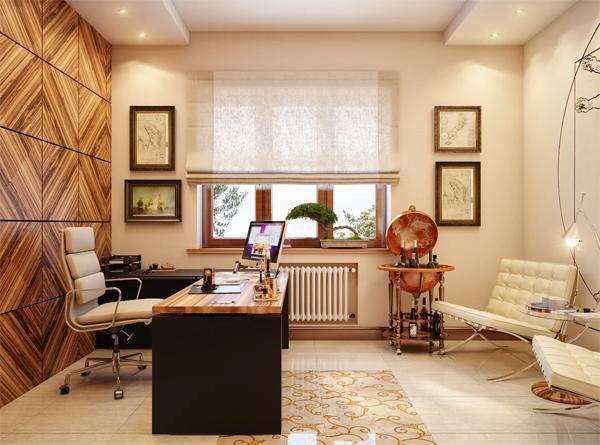 Как оформить кабинет для работы с клиентами в квартире?