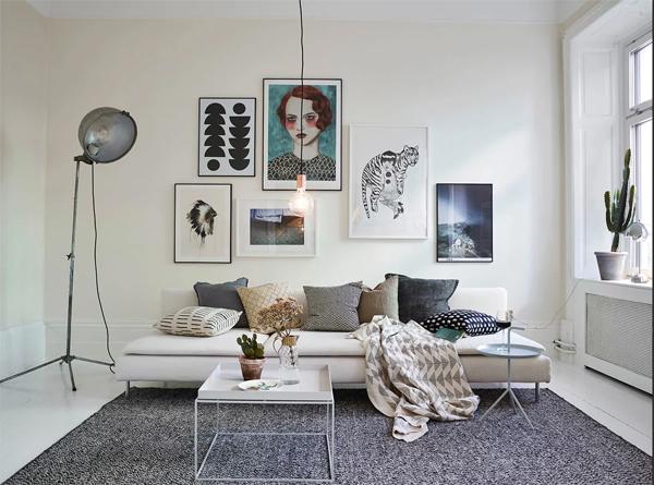 Декор стен постерами: красиво и дешево