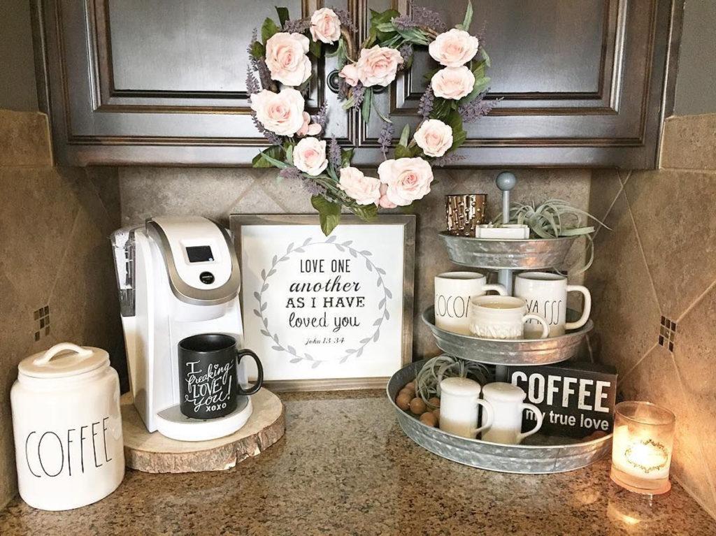 Стильные варианты хранения чая и кофе на кухне [советы с фото]