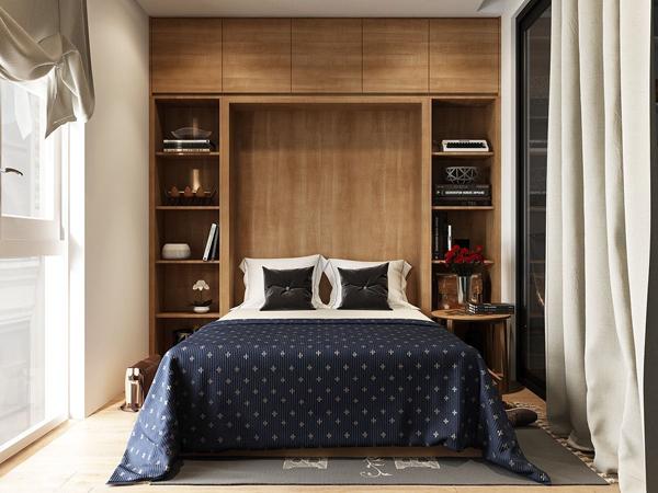 Экономим место в спальне: 5 советов от дизайнера