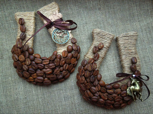 [Творчество дома] Декор из зерен кофе