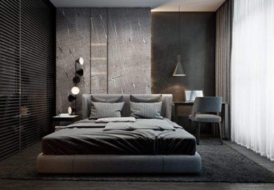 Настоящая мужская спальня: советы дизайнера