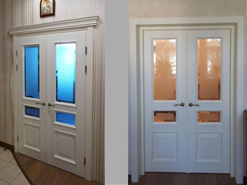 Двери из экошпона: за и против