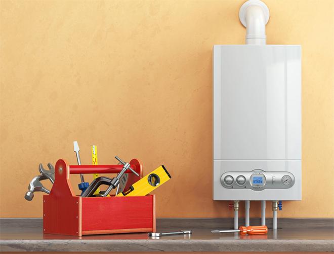 газовый котел для жилого помещения