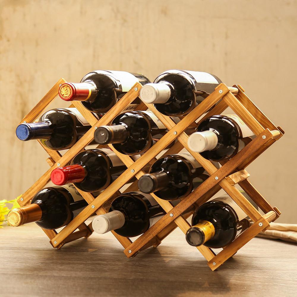 Виды стоек для бутылок