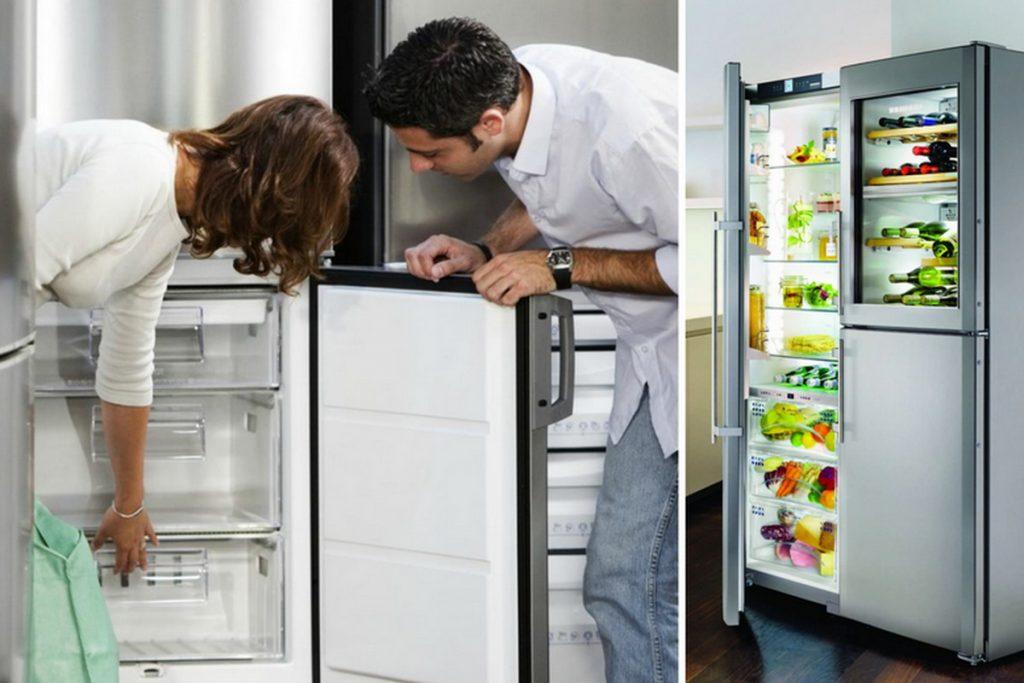 Как выбрать холодильник по размеру и объему