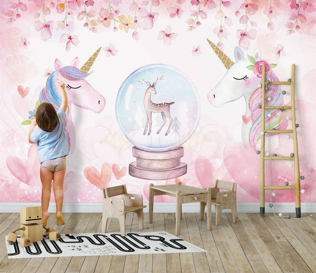 Несколько советов по выбору фотообоев для детской комнаты