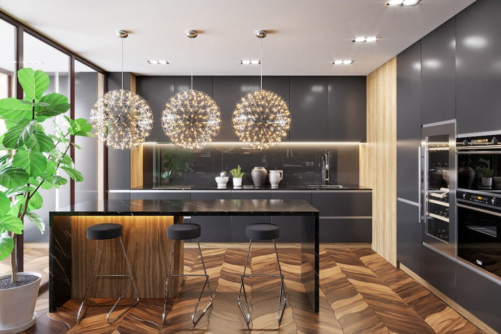 9 современных стилей интерьера для кухни