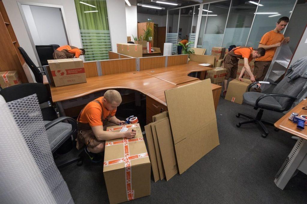 Как перевезти офис без остановки производства